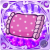 [★6] Fluffy Pillow (Purple)