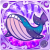 [★6] Space Whale (Purple)