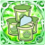 [★6] Green Puyo Jelly