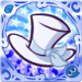 [★6] Silk Hat (Blue)